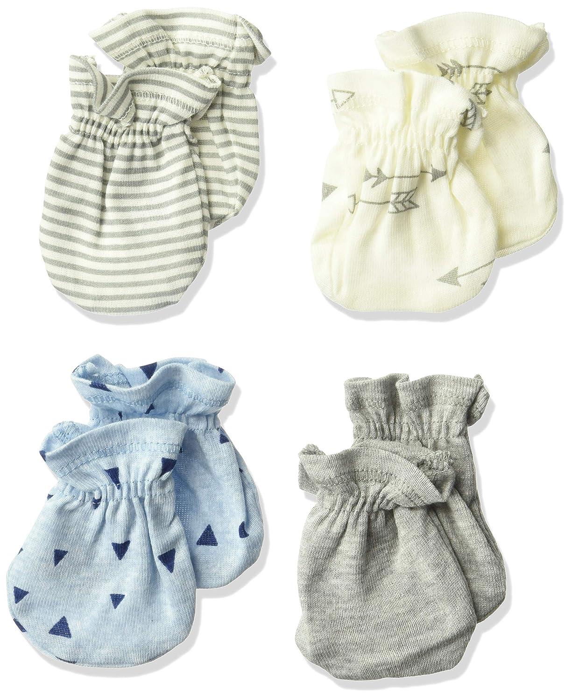 Gerber Baby Boys' 4-Pair Mittens explore 0-3 Months Gerber Children' s Apparel 14685416AB0203I