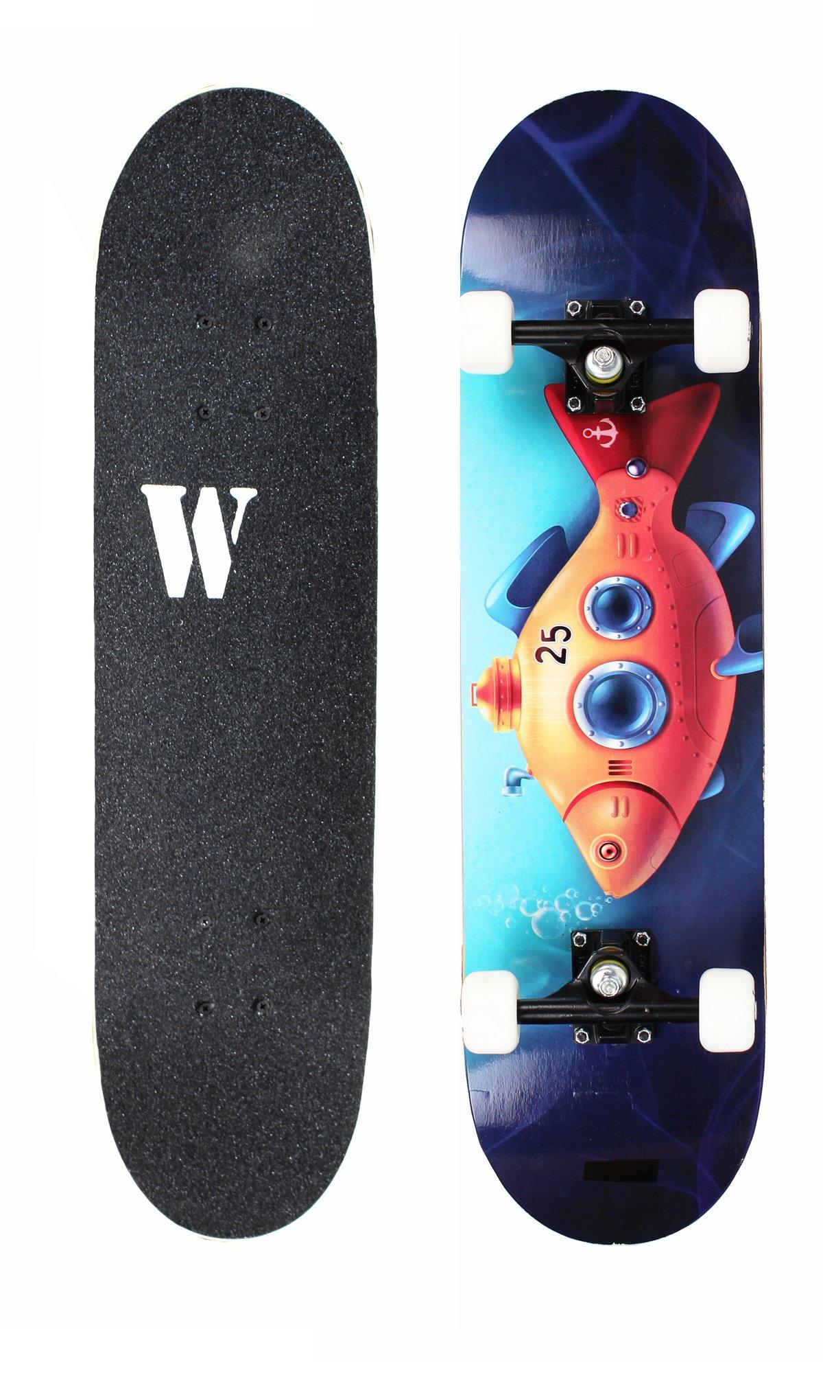 WiiSHAM Complete 31'' Skateboard (14)
