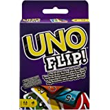 UNO FLIP! Family Card Game, with 112 Cards in a Sturdy Storage Tin, Makes a Great Gift for 7 Year Olds and Up UNO FLIP…