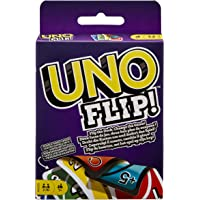 Mattel Games GDR44 UNO FLIP Family Card Game, with 112 Cards in a Sturdy Storage Tin, Makes a Great 7 Year Olds and Up