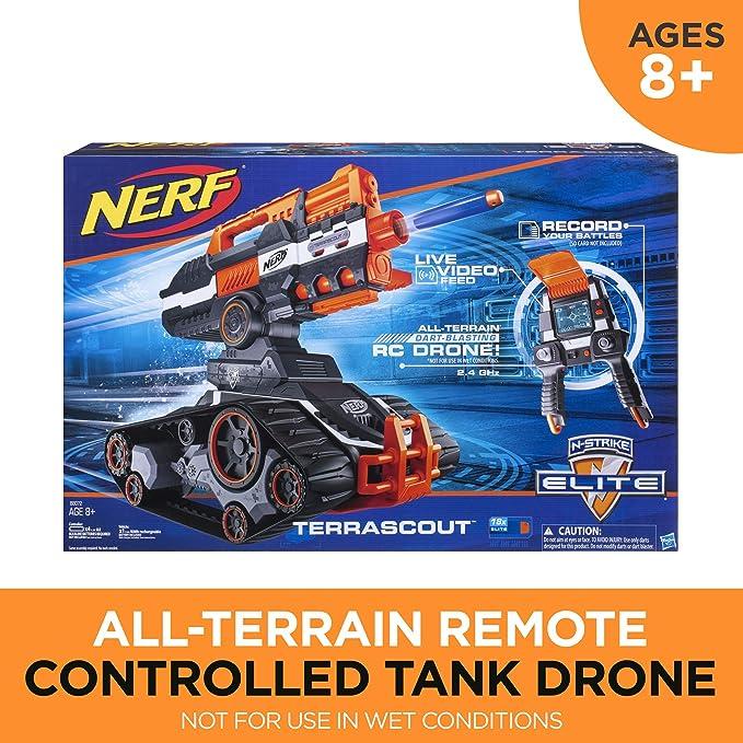 Nerf N-Strike Elite terrascout: Amazon.es: Juguetes y juegos