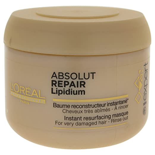 The Best Hair Products For Each Hair Type | L'oreal Professional Expert Serie Absolut Repair Cellular Masque | Hairstyle on Point