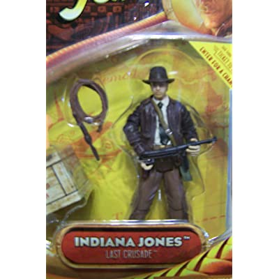 Indiana Jones 3 3/4Inch - Indiana Jones with SubMachine Gun - Last Crusade: Toys & Games
