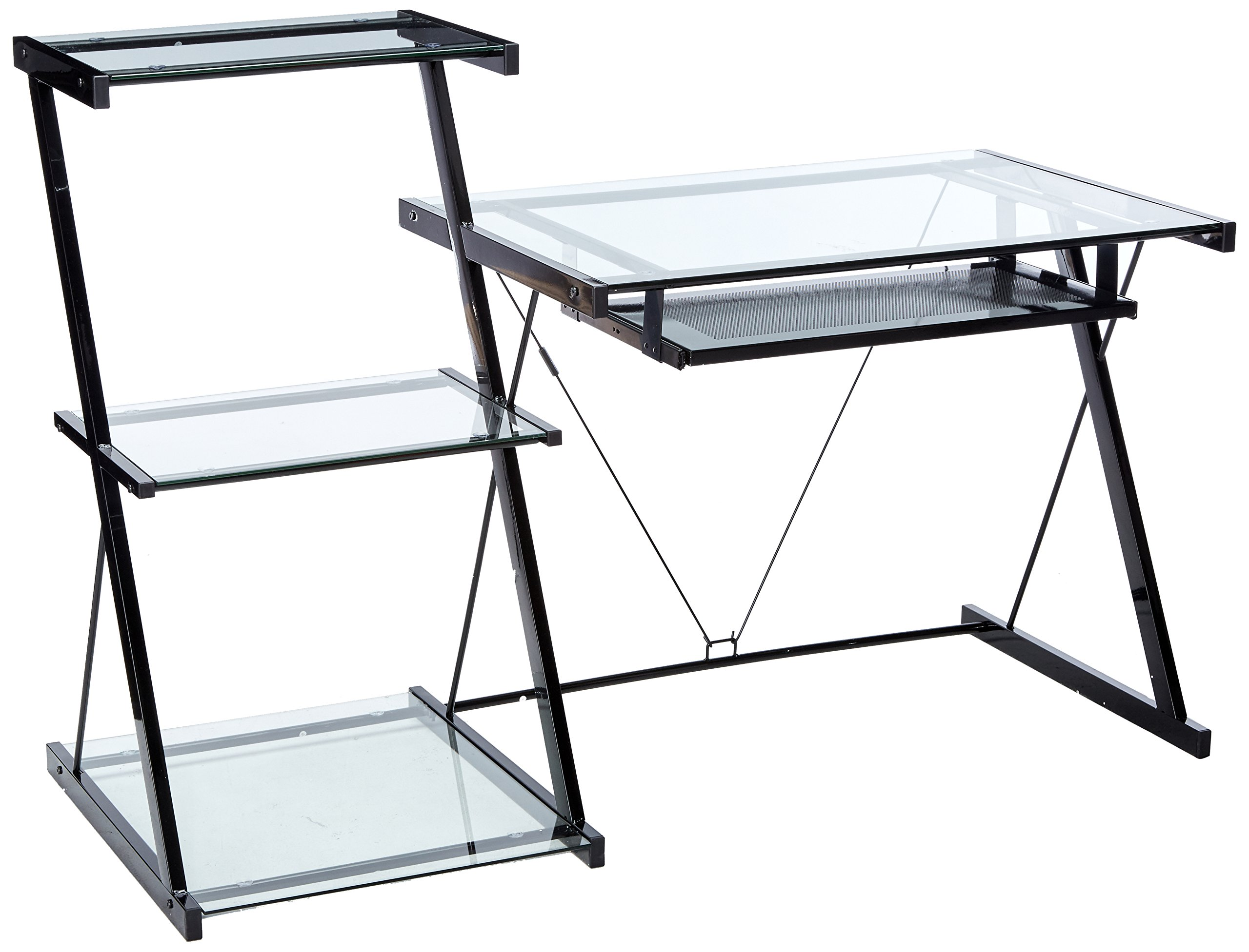 Z-Line Nero Desk and Bookcase by Z-Line Designs