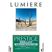 Lumière LUM3100123 Papier Photo Jet d'encre Blanc