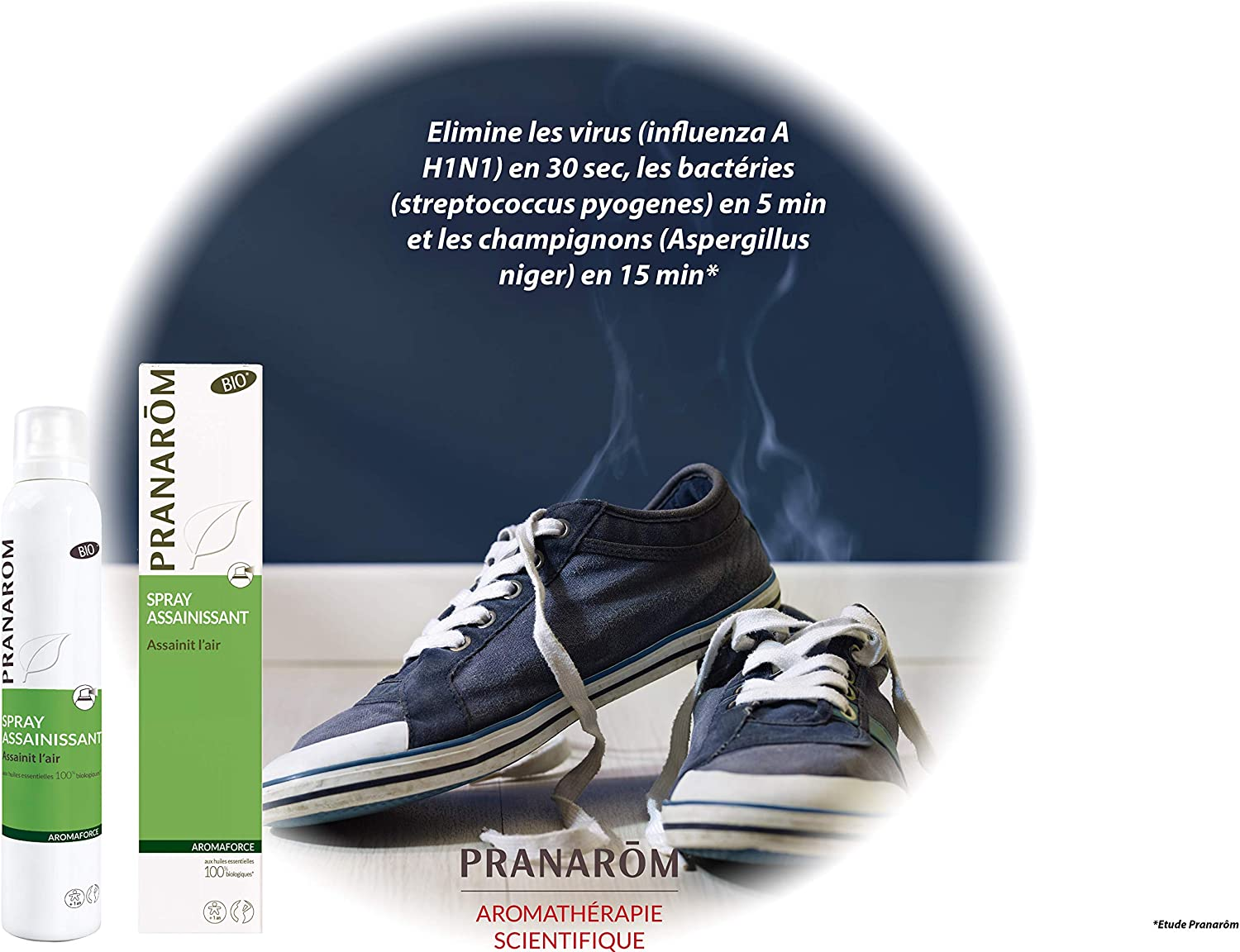 Pranarôm – Aromaforce – Spray assainissant Bio (Eco) – 150 ml ...