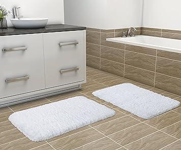 Charmant Lifewit 2 Pack 20u0026quot; X 32u0026quot; Soft Shaggy Bath Mat Set Non Slip