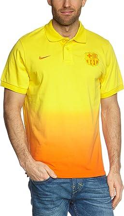 Nike Barcelona F.C. - Polo para hombre, talla S, color amarillo ...