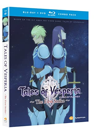 Amazon.com: Tales of Vesperia: The First Strike (Blu-ray/DVD Combo ...