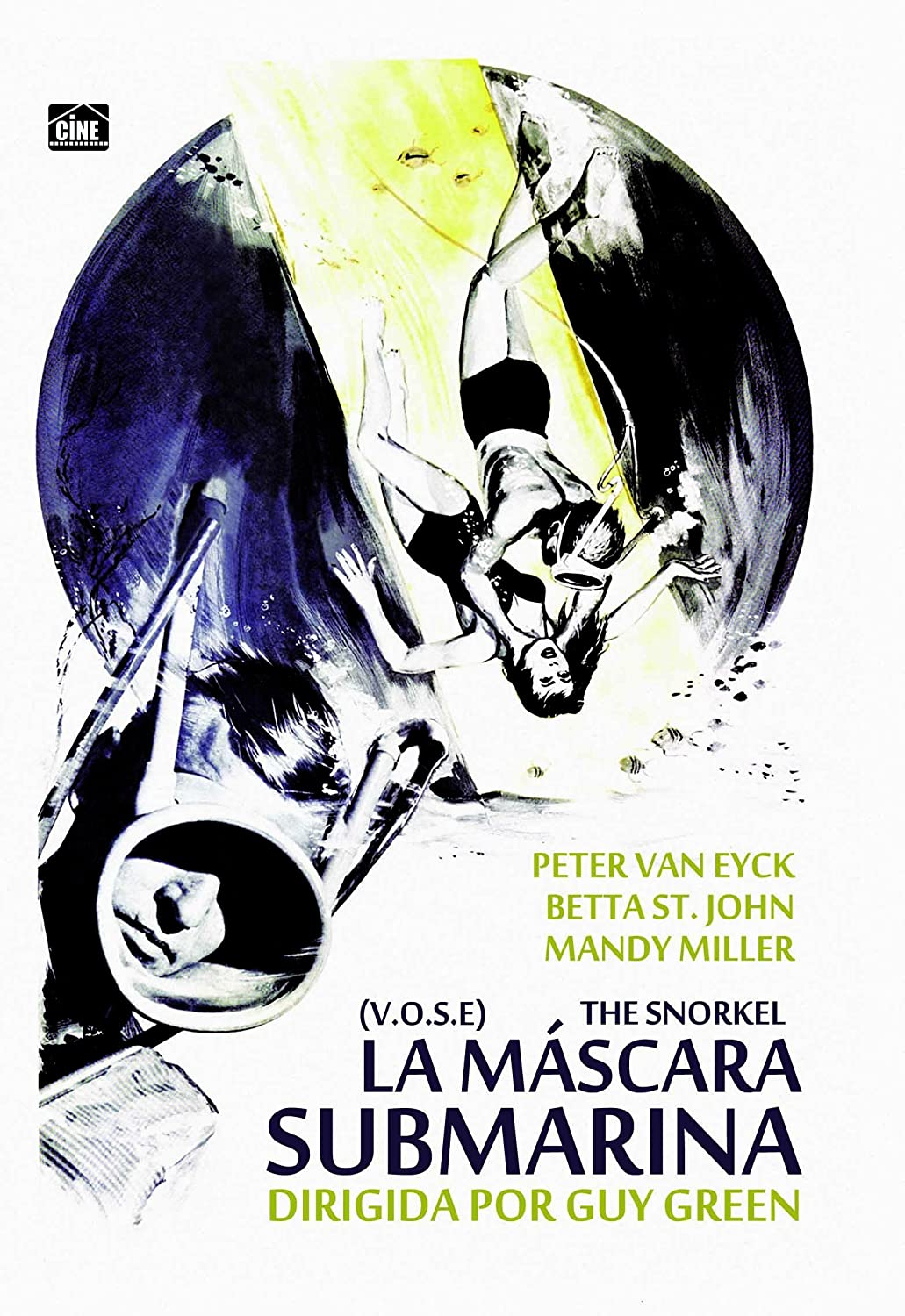 Amazon.com: La Máscara Submarina - The Snorkel [Non-usa Format: Pal -Import- Spain ]: Betta St. John, Mandy Miller Peter van Eyck: Movies & TV