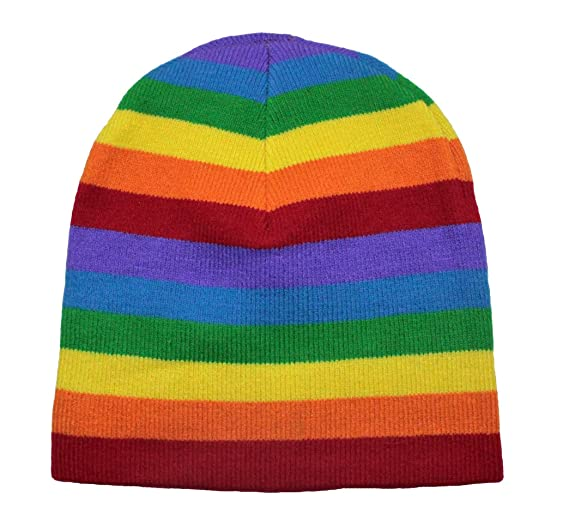 Image not available for. Color  Rainbow Beanie ca938019dba