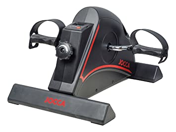 Jocca 6190 - Pedaleador con Display, Color Negro