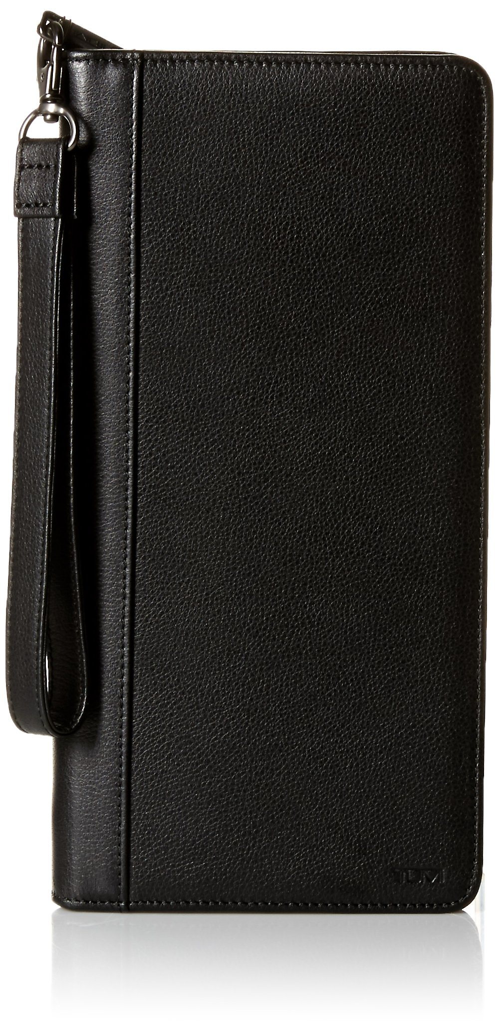 TUMI Men's Nassau Zip Travel Case Accessory, -black textured, one size