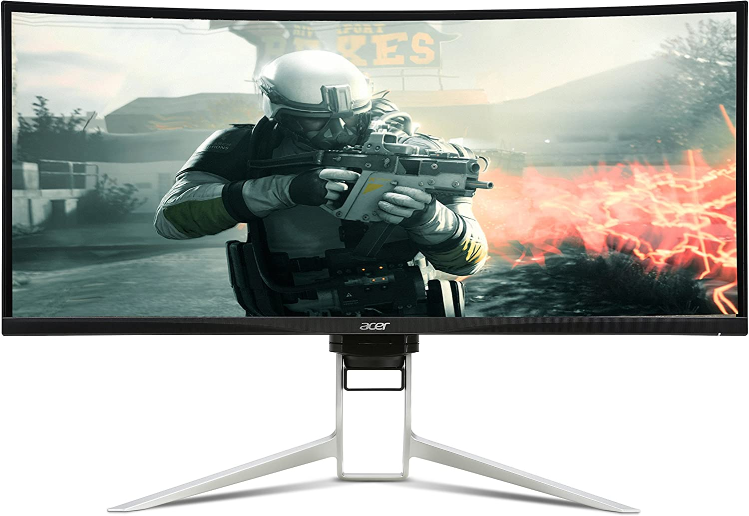 Acer Predator XR100CKP Curved Monitor 100 cm (100 Inch Ultra Wide QHD) 100x  HDMI, USB Type-C, DisplayPort, 100ms Response Time, Resolution 100,1001000 x 10,1001000,