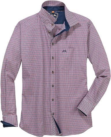 Maddox Camisa Tradicional elástica Escocesa Rojo-Azul XXL: Amazon.es: Ropa y accesorios