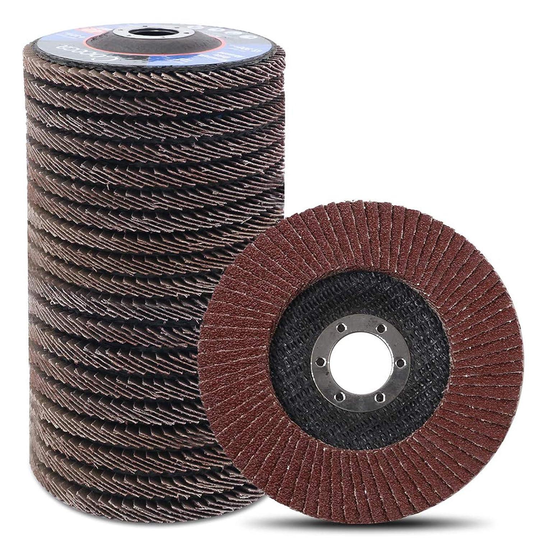 6-12 Inch Abrasive Grinding Flap Wheel Polishing Wheel Interleaf  Wheel 2Pcs
