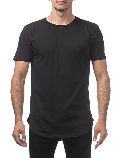 422c49e0abdb Amazon.com: Pro Club Men's Longline Curved Hem Short Sleeve T-Shirt ...