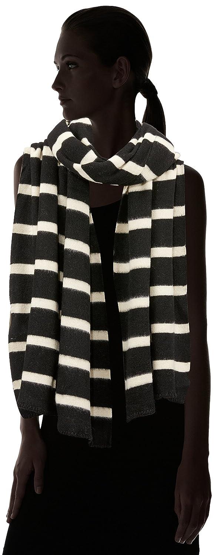 Black PIECES Pcjiva Long Scarf Sciarpa Multicolore Taglia Unica Donna