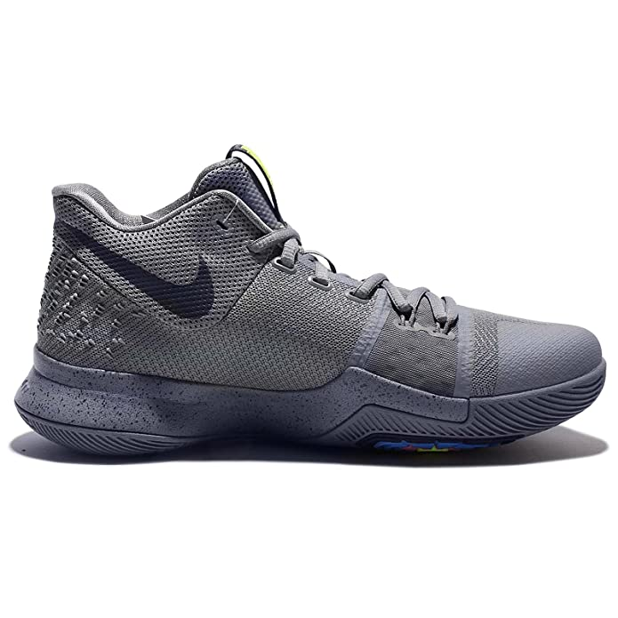 more photos 5bfe3 dc40d Amazon.com   Nike Men s Kyrie 3 EP, COOL GREY MIDNIGHT NAVY-PURE    Basketball
