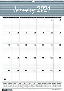 product image for House of Doolittle 2021 Monthly Wall Calendar, Bar Harbor, 8.5 x 11 Inches, January - December (HOD331-21), White