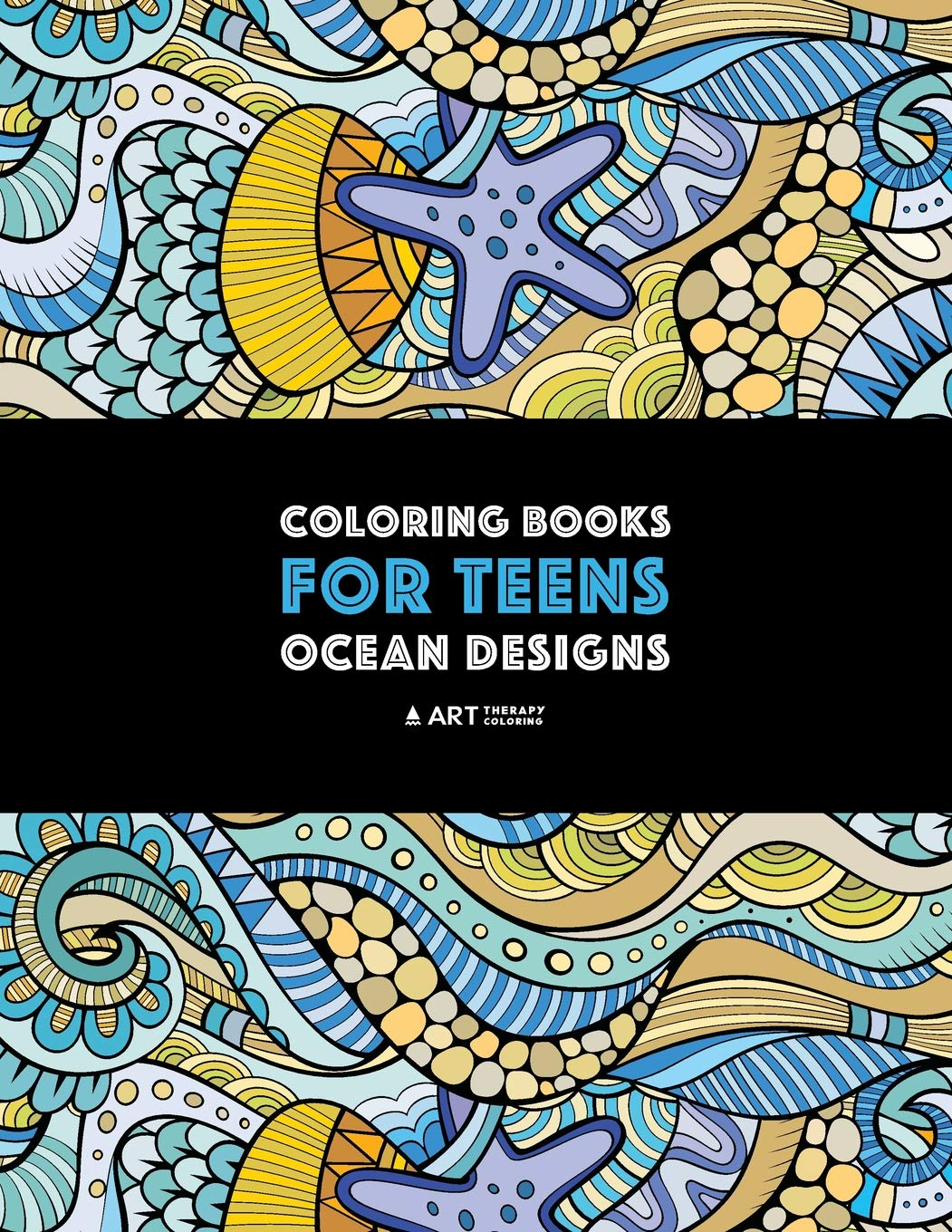 Coloring Books Teens Zendoodle Anti Stress product image