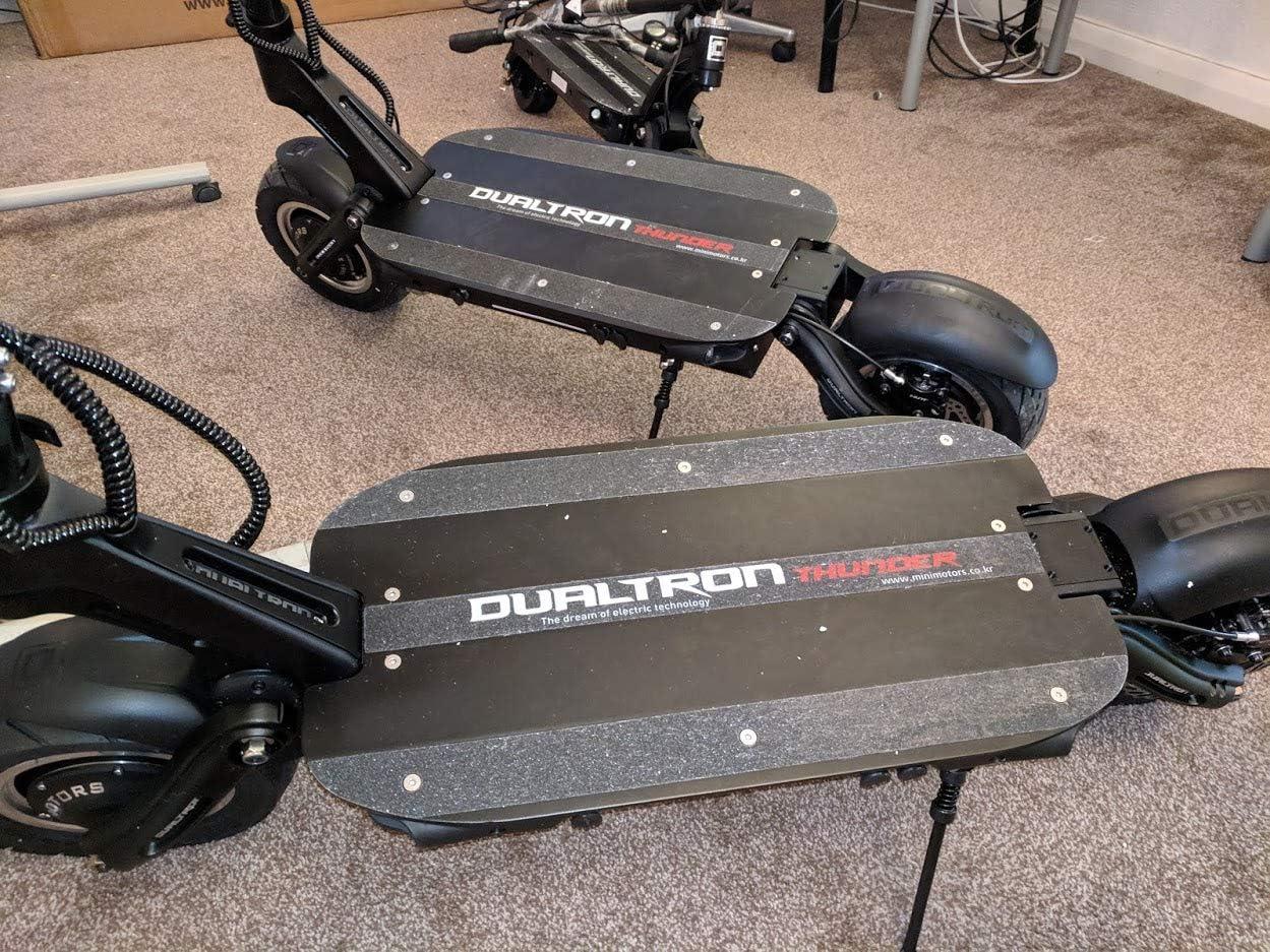 80 km de alcance, 80 km//h de velocidad m/áxima 60 V Dualtron Thunder Patinete el/éctrico de 5400 W por Minimotors 35 Ah