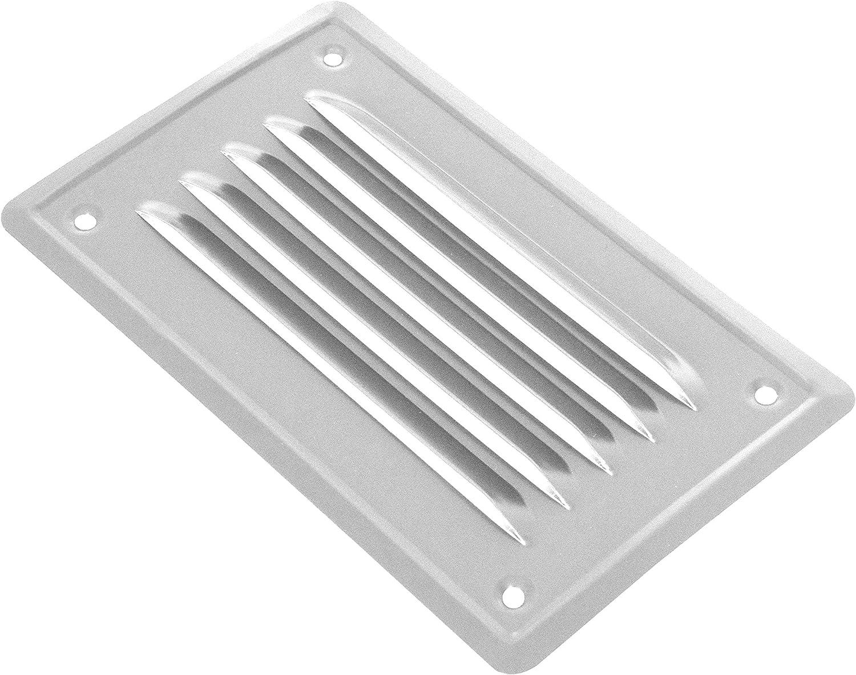 lacada para chimenea enroscada ADGO/® Rejilla de ventilaci/ón de acero inoxidable de alta calidad mosquitera resistente a la corrosi/ón rejilla de escape 100//165//230 x 165 mm