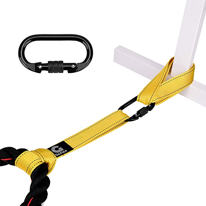 Details about  /Battle Rope with Anchor Strap Kit 30''40'' Length Upgraded Exercise Training Rop