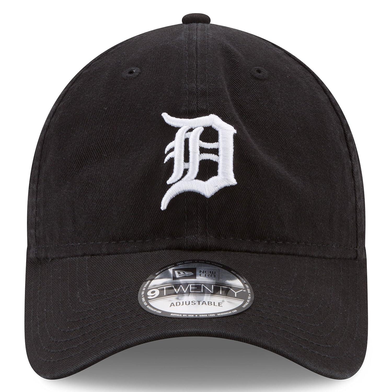 competitive price daca7 91bbc Amazon.com   Detroit Tigers New Era Core Classic 9TWENTY Adjustable Hat  Black   Sports   Outdoors