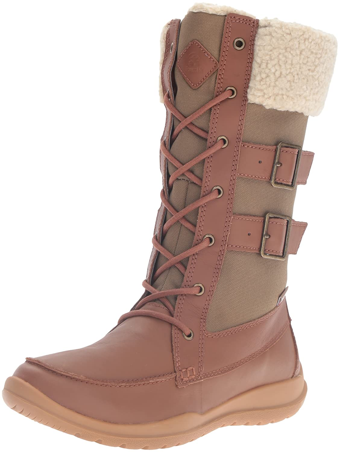 Kamik Women's Addams Snow Boot B0198WLV58 8 B(M) US|Tan