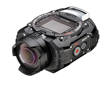 Amazon.com : Ricoh WG-M1 Black Waterproof Action Video Camera with ...