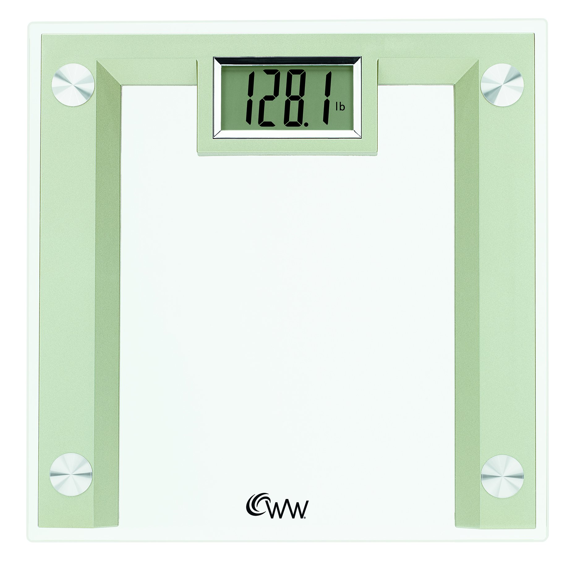 Weight Watchers Scales by Conair  Digital Glass Scale; Champagne