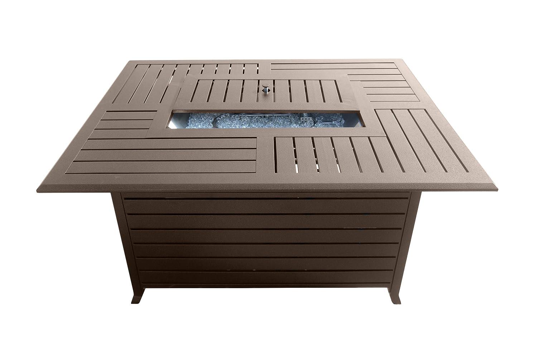 Amazon.com : AZ Patio Heaters Fire Pit, Extruded Aluminum Rectangular :  Garden U0026 Outdoor