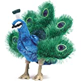 Folkmanis Small Peacock Hand Puppet