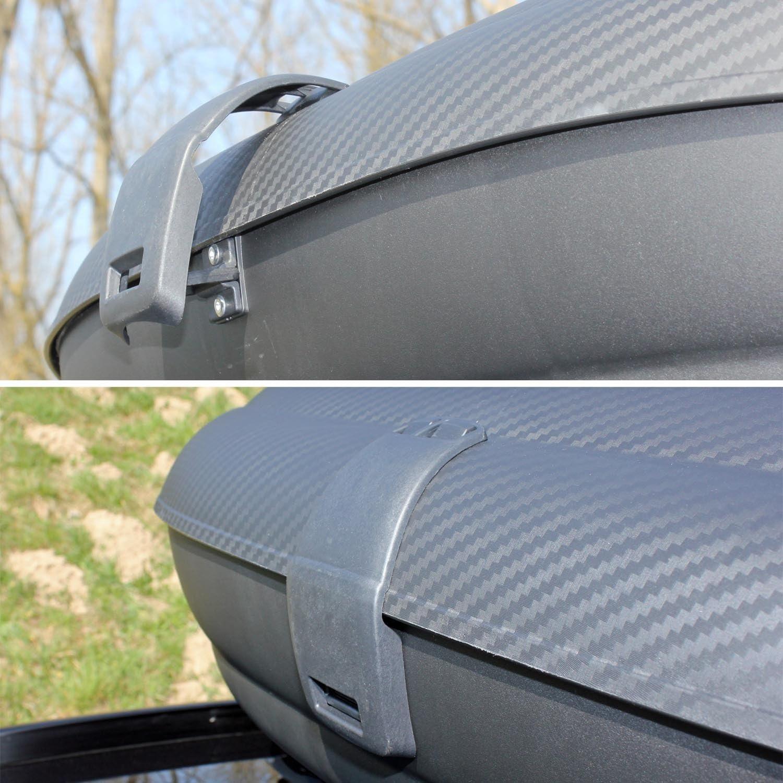 ab 17 5 T/ürer VDP Dachbox VDPBA320 320Ltr carbonlook abschlie/ßbar Dachtr/äger//Relingtr/äger KING1 kompatibel mit Opel//Vauxhall Grandland X