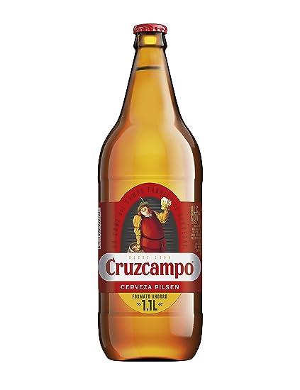 Cruzcampo Cerveza Botella - 1.1 L