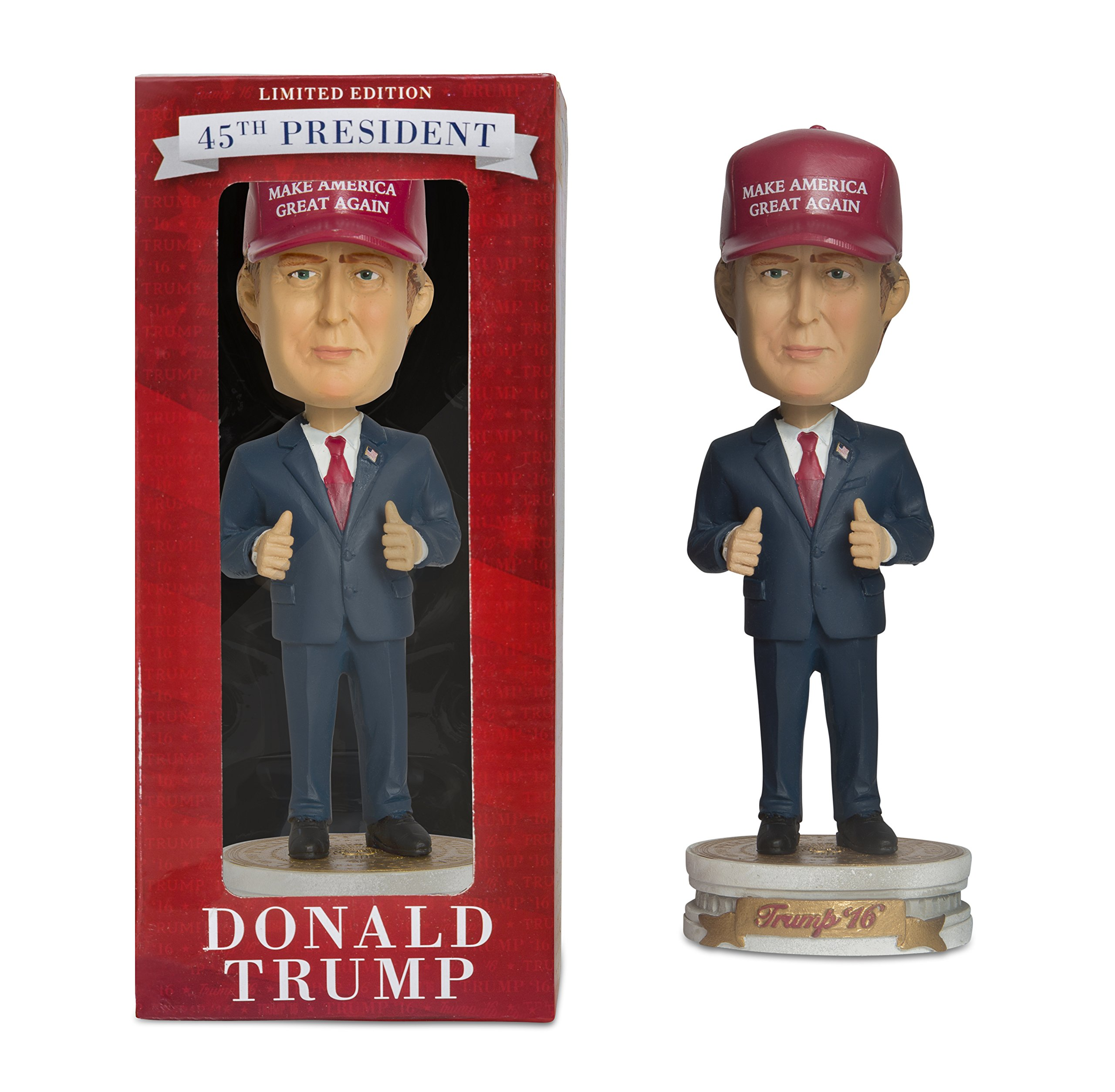 PLAN P2 PROMOTIONS Donald Trump Bobblehead, Make America...