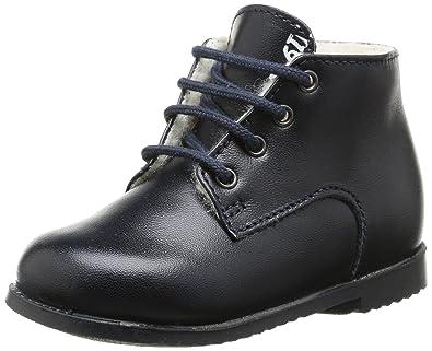 Little Mary Unisex Babies' Milocho First Walking Shoes, Blue (Vachette  MarineVachette Marine)