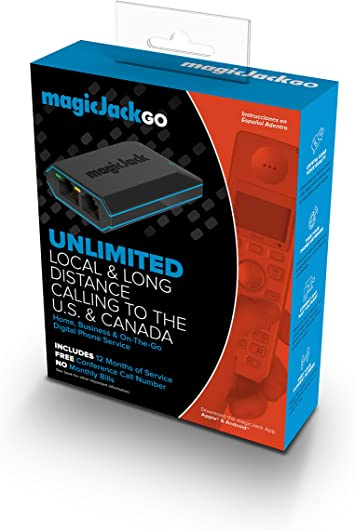 Business On The Go Home New Magic Jack Go Portable Phone