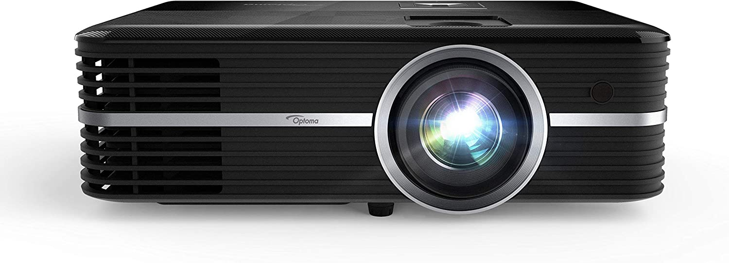 Optoma UHD51A 4K UHD Smart Home Theater Projector, Works with Amazon Alexa & Google Assistant (Renewed)