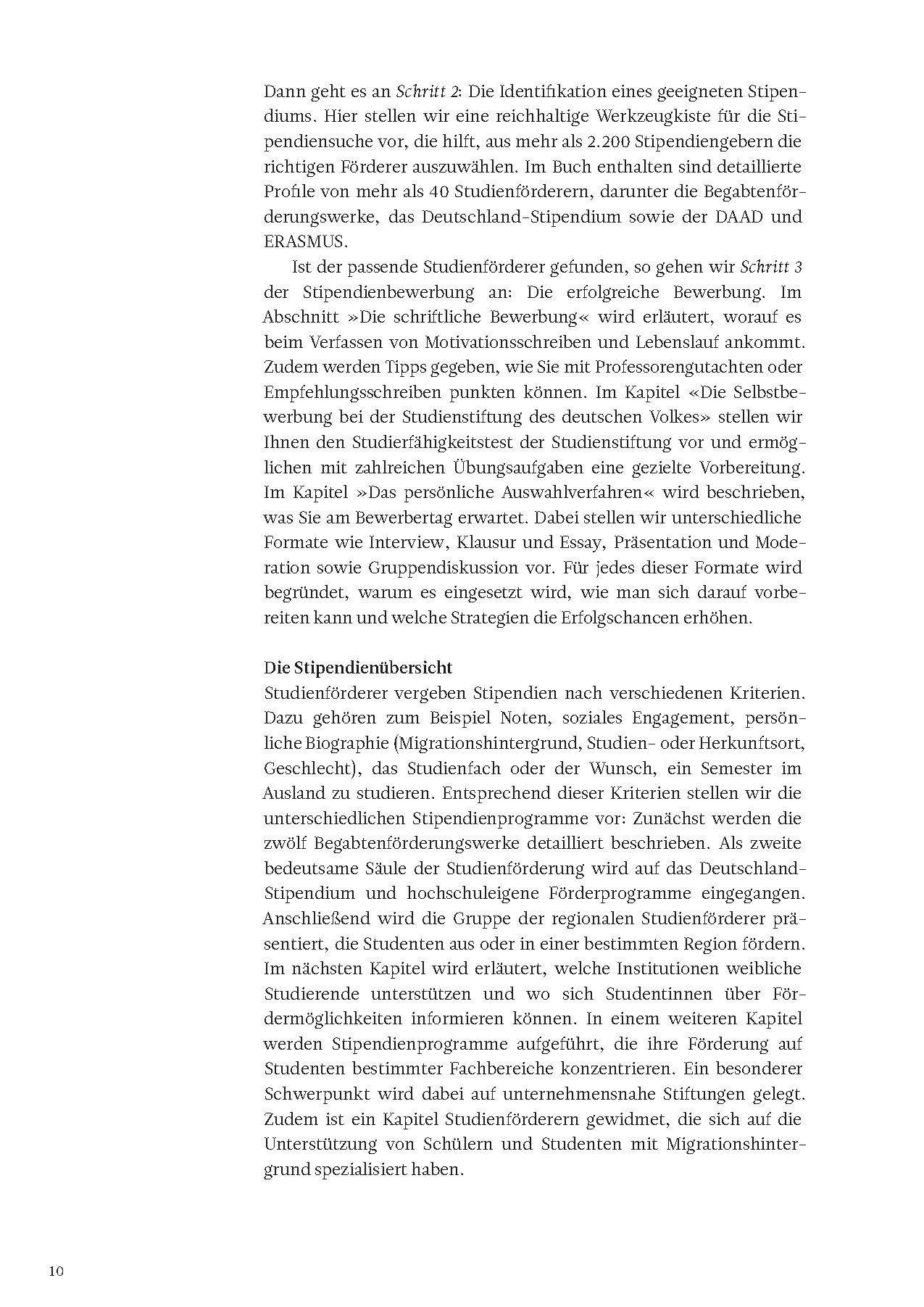 Das Insider-Dossier: Der Weg zum Stipendium: Tipps zur Bewerbung für ...