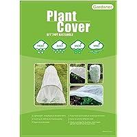 Gardaner Plant Covers Freeze Protection 0.9oz 8Ft x 24Ft Rectangle Plant Cover for Cold Protection, Animal,Season Extension