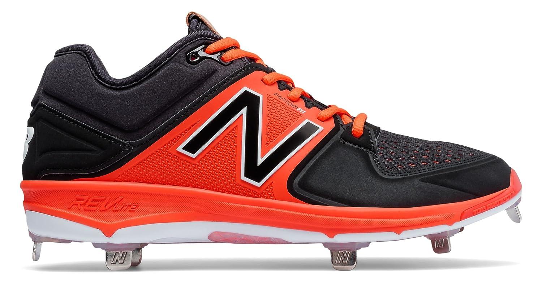 (ニューバランス) New Balance 靴シューズ メンズ野球 Low-Cut 3000v3 Metal Cleat Black with Orange ブラック オレンジ US 8 (26cm) B01J5BOGTA