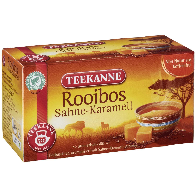 Teekanne Rooibos cream caramel 20 bags (pack of 2)