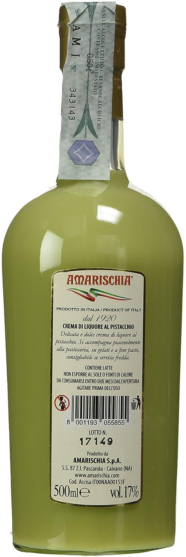 Amarischia Crema Al Pistacchio In Bottiglia Bordolese 500 Ml