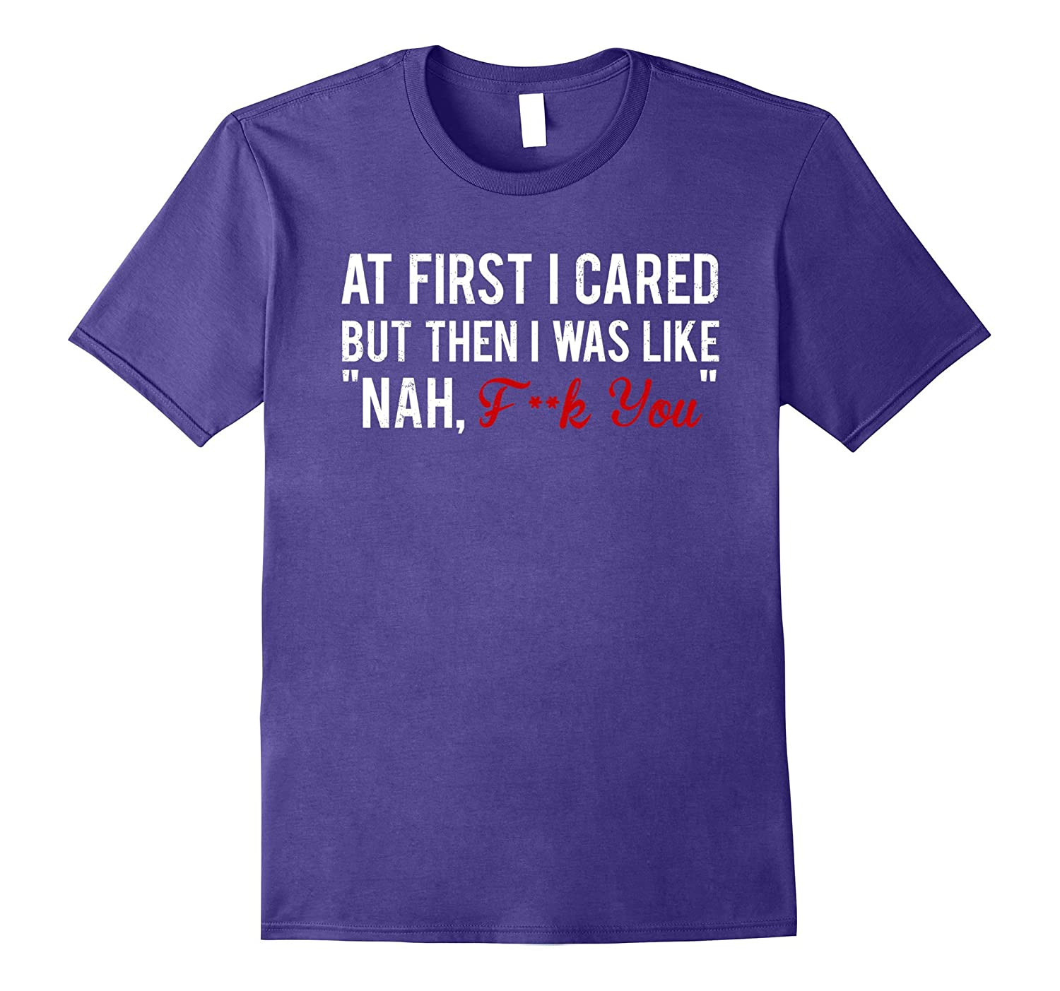 At First I Scared But Then I Was Like Nah T-Shirt-Art