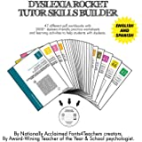 Dyslexia Rocket Tutor Skills Builder   Dyslexia Games   47 Printable Workbooks   +2000 Practice Worksheets   For Kids from 4 to 10 Years.