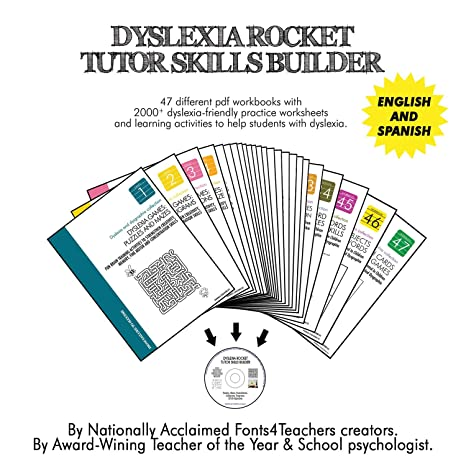 Amazon.com : Dyslexia Rocket Tutor Skills Builder | Dyslexia Games ...
