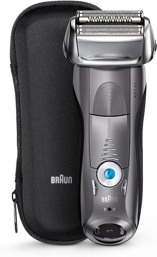 Braun 7855s Máquina de Afeitar de láminas Recortadora Plata, Metal ...
