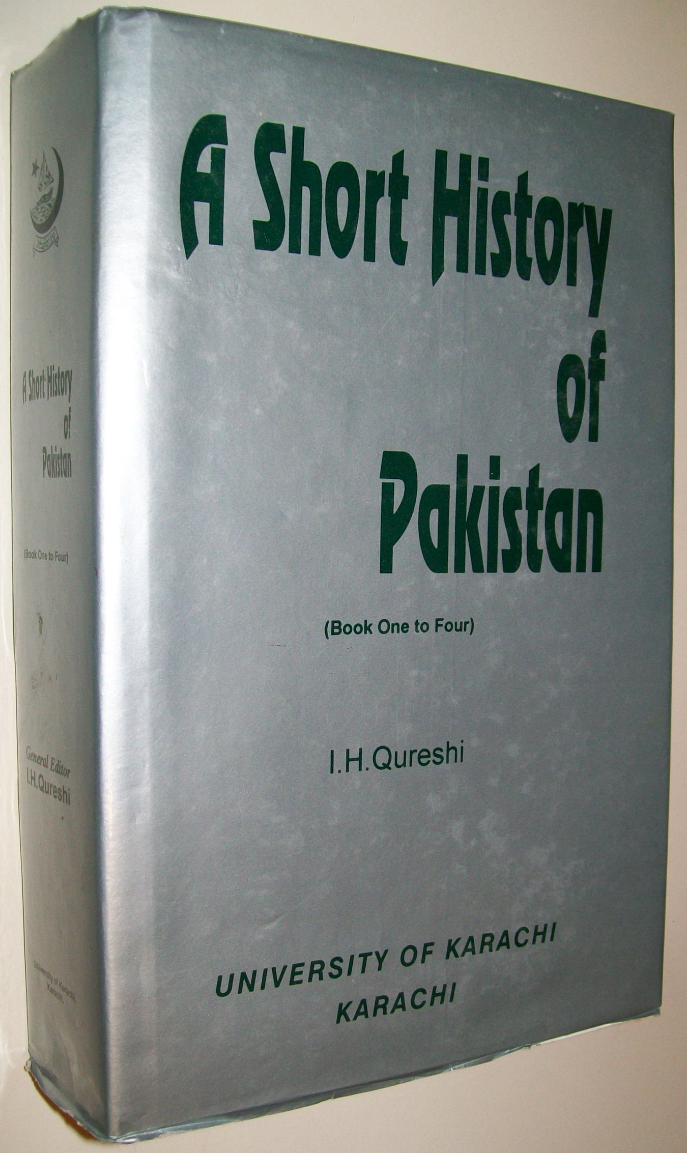A Short History Of Pakistan Books One To Four